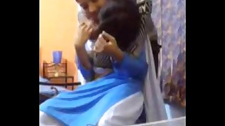 Indian 20y old cute lovely sister enjoyed by own Cousin when parents not home -