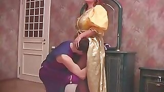 Russian Mom and Son Halloween Hookup 1